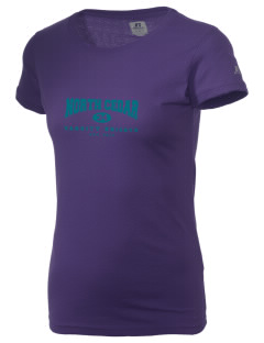 North Cedar Middle School Knights  Russell Women's Campus T-Shirt