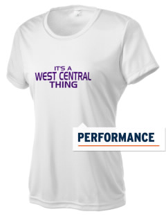 West Central Middle School Wild Cats Women's Competitor Performance T-Shirt