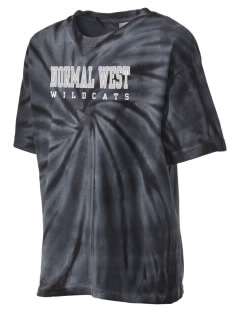Normal Community West High School Wildcats Kid's Tie-Dye T-Shirt