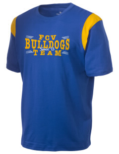 Franklin County Vocational Center Bulldogs Holloway Men's Rush T-Shirt