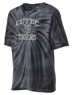 Cumberland County Technical Education Center Tigers Kid's Tie-Dye T-Shirt