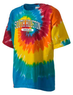 South Houston Elementary School Eagles Kid's Tie-Dye T-Shirt