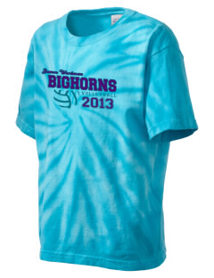 James Workman Middle School Bighorns Kid's Tie-Dye T-Shirt