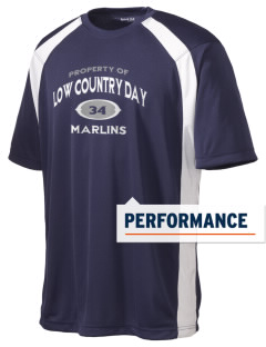 Low Country Day School Marlins Men's Dry Zone Colorblock T-Shirt