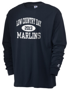 Low Country Day School Marlins  Russell Men's Long Sleeve T-Shirt