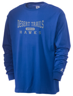 Desert Trails Elementary School Eagles  Russell Men's Long Sleeve T-Shirt