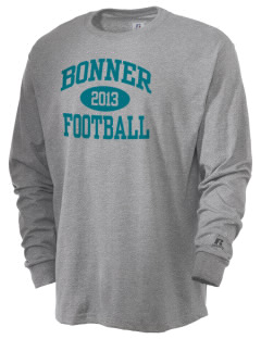 Bonner Elementary School Bobcats  Russell Men's Long Sleeve T-Shirt