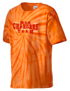 Mater Dei School Nativity School Chargers Kid's Tie-Dye T-Shirt