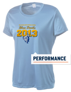 Bellwood-Antis Middle School Blue Devils Women's Competitor Performance T-Shirt
