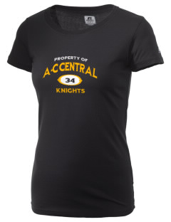 A-C Central High School Knights  Russell Women's Campus T-Shirt