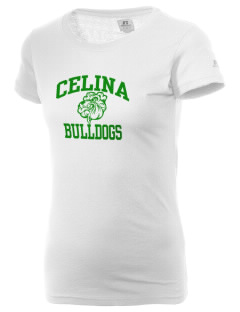 Celina Intermediate School Bulldogs  Russell Women's Campus T-Shirt