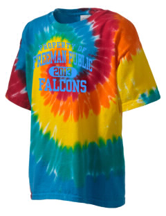 Freeman Public School Falcons Kid's Tie-Dye T-Shirt