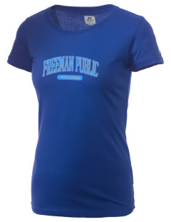 Freeman Public School Falcons  Russell Women's Campus T-Shirt
