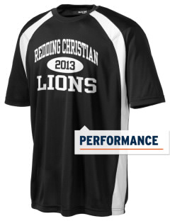 Redding Christian School Lions Men's Dry Zone Colorblock T-Shirt