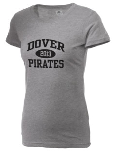 Dover Middle School Pirates  Russell Women's Campus T-Shirt