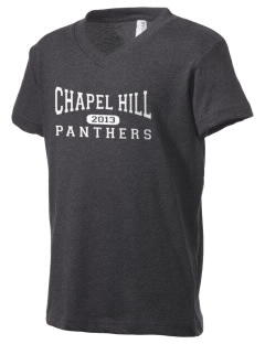 Chapel Hill High School Panthers Kid's V-Neck Jersey T-Shirt