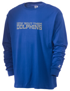 Day Middle School Dolphins  Russell Men's Long Sleeve T-Shirt