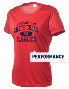 Chets Creek Elementary School Eagles Women's Competitor Performance T-Shirt