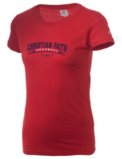 Christian Faith School Eagles  Russell Women's Campus T-Shirt