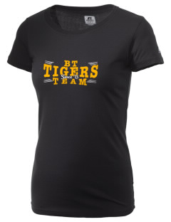Don Bosco Tech Institute School Tigers  Russell Women's Campus T-Shirt
