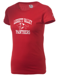 Leggett Valley School Panthers  Russell Women's Campus T-Shirt