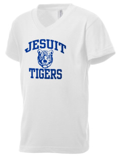 Jesuit High School Tigers Kid's V-Neck Jersey T-Shirt