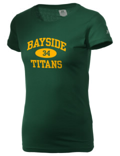 Bayside Community Day School Trojans  Russell Women's Campus T-Shirt