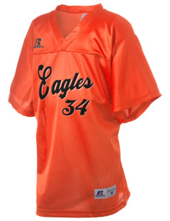 Bradford Middle School Eagles Russell Kid's Replica Football Jersey