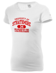 Strathmore Middle School Strathmore Bulldogs  Russell Women's Campus T-Shirt