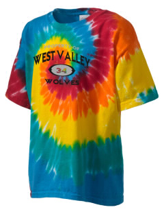 West Valley Middle School Wolves Kid's Tie-Dye T-Shirt