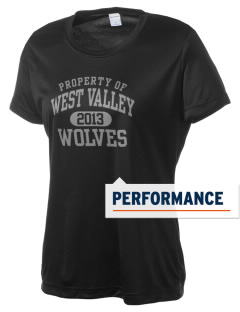 West Valley Middle School Wolves Women's Competitor Performance T-Shirt