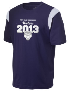 West Valley Middle School Wolves Holloway Men's Rush T-Shirt