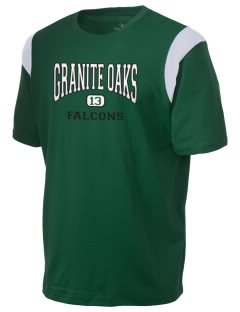 Granite Oaks Middle School Falcons Holloway Men's Rush T-Shirt
