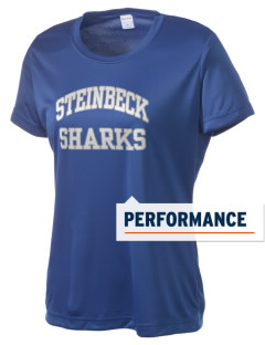 Steinbeck Elementary School Sharks Women's Competitor Performance T-Shirt
