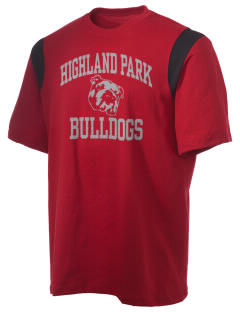 Highland Park Intermediate School Bulldogs Holloway Men's Rush T-Shirt