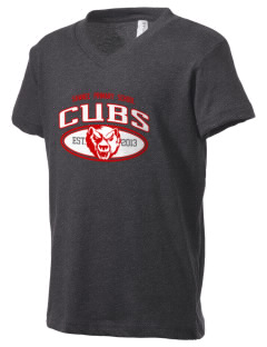 Sawnee Primary School Cubs Kid's V-Neck Jersey T-Shirt
