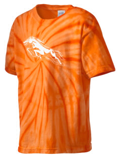 Brophy College Preparatory School Broncos Kid's Tie-Dye T-Shirt