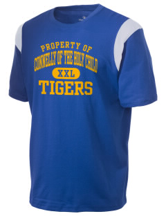 Connelly School Of The Holy Child Tigers Holloway Men's Rush T-Shirt