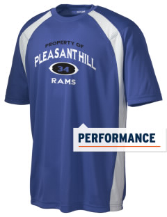 Pleasant Hill Middle School Rams Men's Dry Zone Colorblock T-Shirt