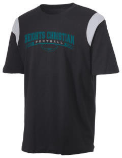 Heights Christian Junior High School Hawks Holloway Men's Rush T-Shirt