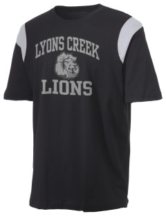 Lyons Creek Middle School Lions Holloway Men's Rush T-Shirt