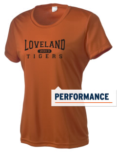 Loveland Elementary School Tigers Women's Competitor Performance T-Shirt
