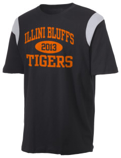 Illini Bluffs Elementary School Tigers Holloway Men's Rush T-Shirt