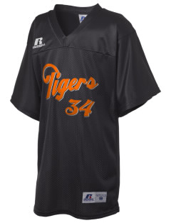 Illini Bluffs Elementary School Tigers Russell Kid's Replica Football Jersey