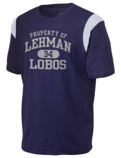 Lehman High School Lobos Holloway Men's Rush T-Shirt