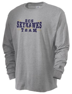Shiloh Christian School Skyhawks  Russell Men's Long Sleeve T-Shirt