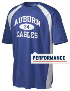 Auburn High School Eagles Men's Dry Zone Colorblock T-Shirt