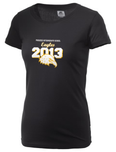 Paradise Intermediate School Eagles  Russell Women's Campus T-Shirt