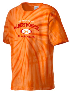 Albert Monroe Middle School Mariners Kid's Tie-Dye T-Shirt
