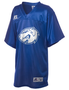 Foshay Learning Center Wolverines Russell Kid's Replica Football Jersey